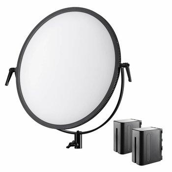 Walimex Pro LED Floodlight Soft 700 Round Bi Color Set1