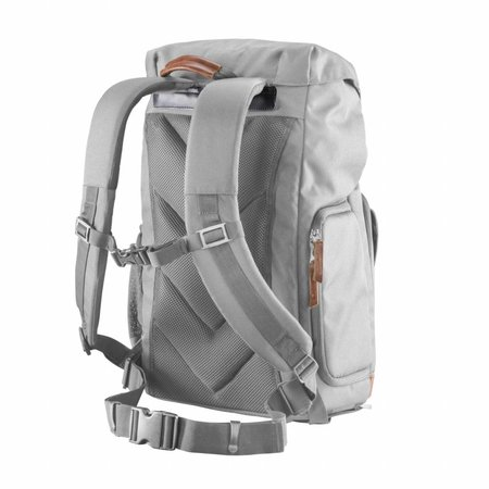 mantona Camera Backpack Luis grey, retro