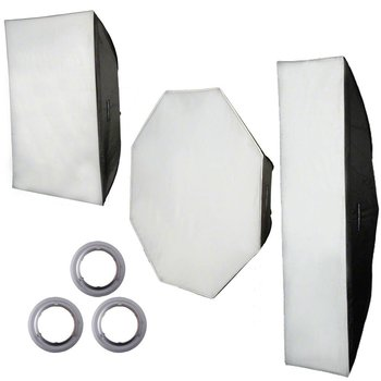 Walimex Pro Softbox Set voor Aurora/Bowens