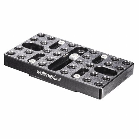 walimex pro Aptaris Cold Shoe Mounting Plate Set