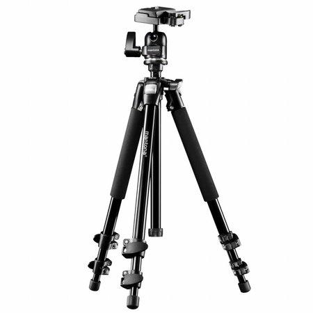 mantona Camera Tripod Scout Max + Tillhead Pan 360°