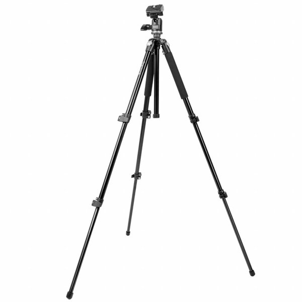Mantona Camera Statief Scout Max + Tillhead Pan 360° Set