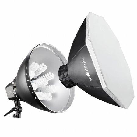 Walimex Pro Daglicht 1260 + Softbox Set,  80cm