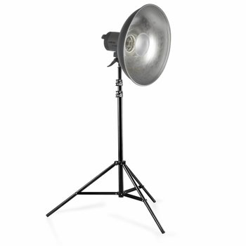 Walimex Dauerlicht Quarzlight VC-1000/Beauty Dish/WT-806
