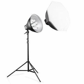 Walimex Pro Daylight-Set 1260 mit Softbox,  80cm