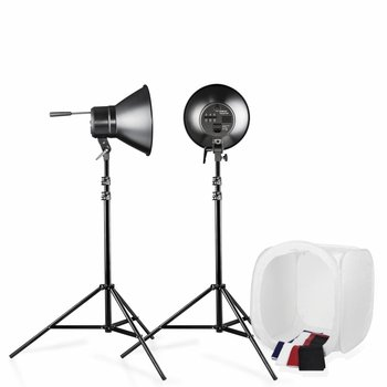 Walimex Daylight Kit 600/600 with Light Cube