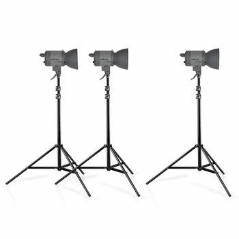 Walimex Pro Dauerlicht Quarzlight Set VC-1000Q/1000Q/1000Q
