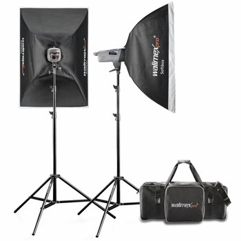 Walimex Pro Studio Lighting Kit VE 200/200