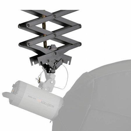 walimex Deckenschienensystem 4x3m, mit 3 Scheren