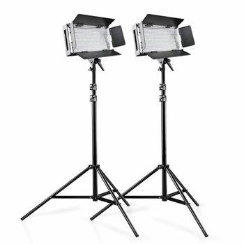 Walimex Pro LED Flächenleuchten On Location Lightning Set Pro 500