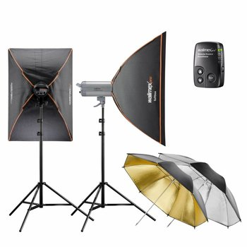 Walimex Pro Studio Lighting Kit VC Excellence Classic 10.4