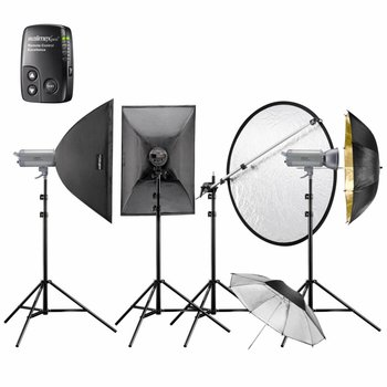Walimex Pro Studio Lighting Kit VC-400/400/300 Excellence