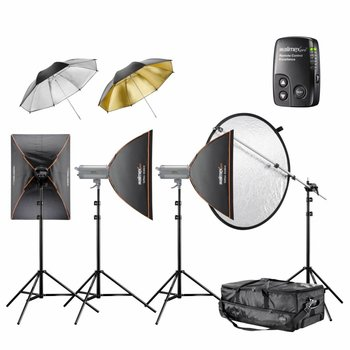 walimex pro Studio Lighting Kit VC Excellence Classic 3.3.4