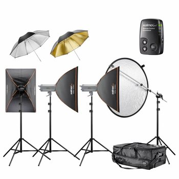 Walimex Pro Studio Lighting Kit VC Excellence Classic 6.5.5