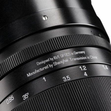 HandeVision Ibelux 40/0,85 Fuji-X schwarz