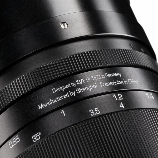 HandeVision Objectief 40/0,85 for Sony E-mount
