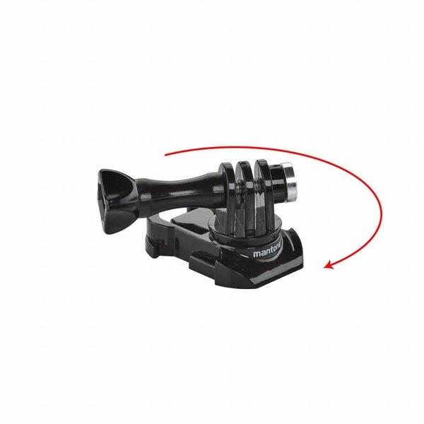 Mantona GoPro Snelklem montageadapter set 360°