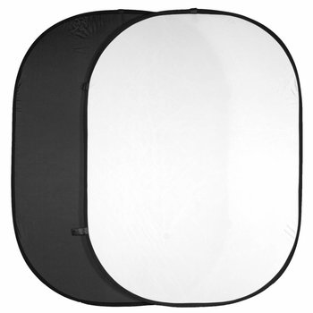walimex Doppelpack Falthintergrund schwarz/weiß