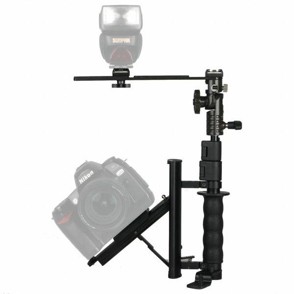 Walimex Flitserbeugel met telescopische arm