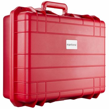 Mantona Outdoor Photo & Studio Protective Case L, red