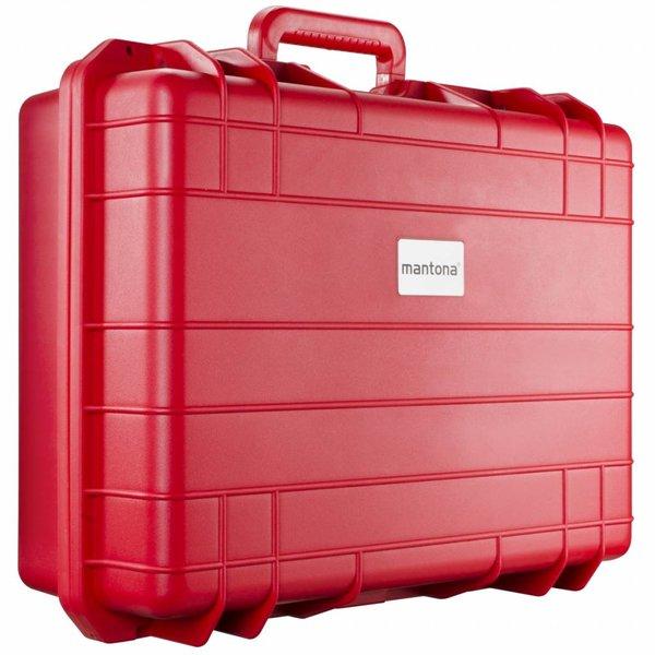 Mantona Outdoor Foto & Studio Koffer L, rood