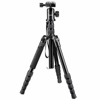 mantona Camera Tripod Travel DSLM with Ball Head
