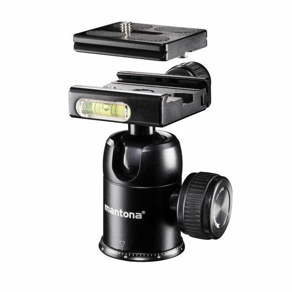 Mantona Camera Statief Travel DSLM en Balhoofd