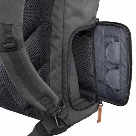 mantona Camera Backpack Luis green, retro