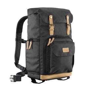 Mantona Camera Backpack Luis Black, retro