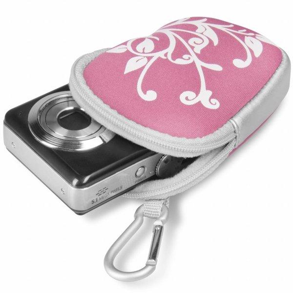 Walimex Camerahoesje voor Compactcamera's  Roze