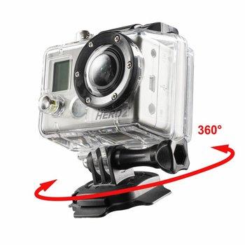 mantona 360° Befestigungsplatte 3M für GoPro