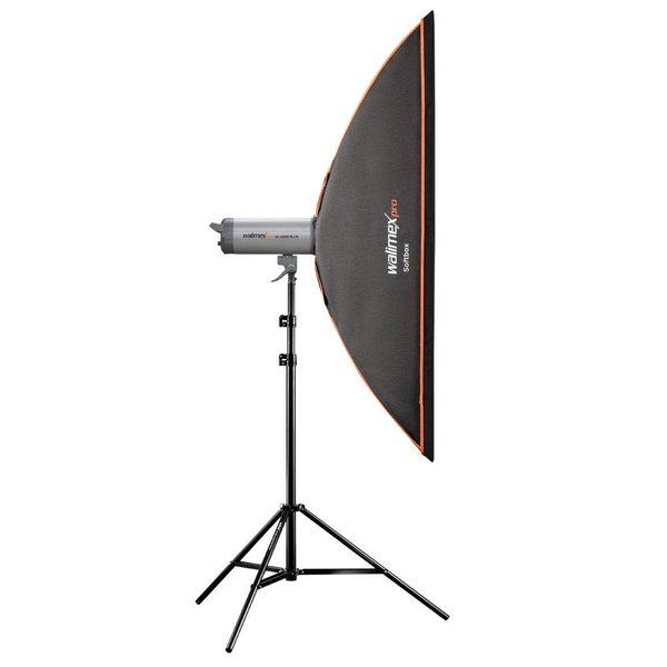 Walimex Pro Softbox Striplight OL 25x150cm    Diverse merken Speedring
