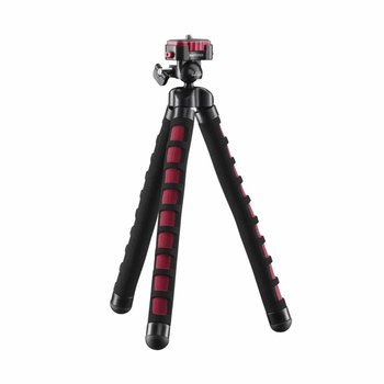 mantona Tripod Kaleido Flex sundown red