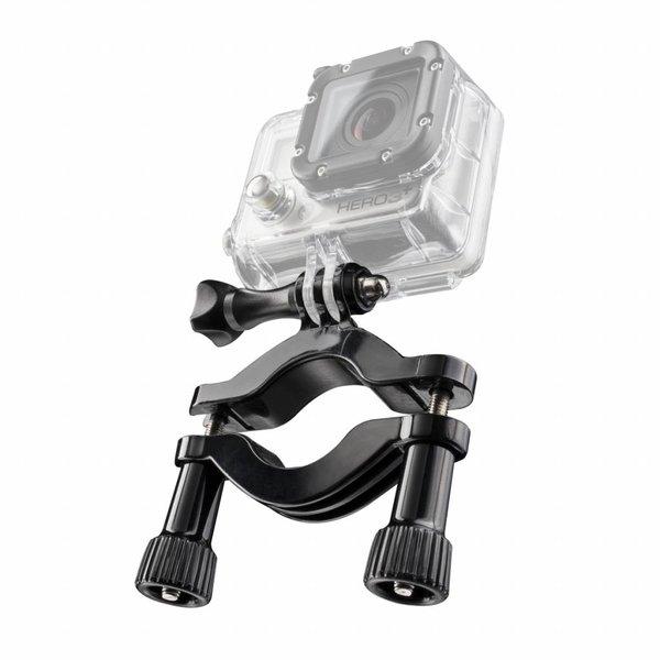 Mantona GoPro Buisbevestiging 22-62mm