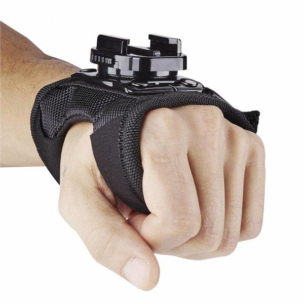 Mantona GoPro Handschoen wreef houder 360°