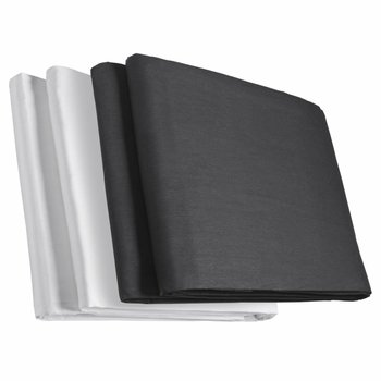 walimex Background Cloth Two-pack Black/white
