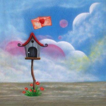 walimex pro Achtergronddoek 'Love-Letter' 3x6m