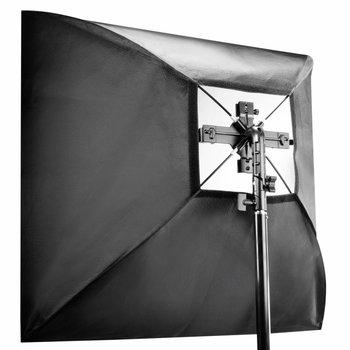 Walimex Set Quad Flash Holder incl. Softb. 90x90cm