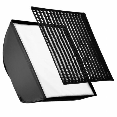 Walimex Quad Flitshouder/Softbox Set 4 Goud