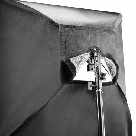 walimex Flash Holder SB 60 Set 4, Umbrella Silver