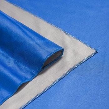 Walimex Pro Achtergrond Doek voor studio fotografie 2 in/ 1 2,85x6m Blauw / Grijs