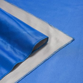 walimex pro Achtergronddoek 2 in/ 1 2,85x6m Blauw / Grijs