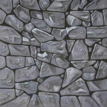 Walimex Pro Motiv-Stoffhintergrund Fotografie 'Stones', 3x6m