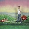Walimex Pro Achtergrond Doek Alice Motief voor fotografie '', 3x6m