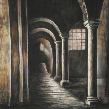Walimex Pro Motiv-Stoffhintergrund Fotografie 'Gothic', 3x6m