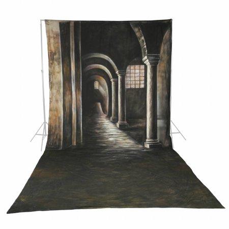 Walimex Pro Achtergrond Doek Gothic Motief voor fotografie 3x6m