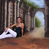Walimex Pro Achtergrond Doek Rome Motief voor fotografie 3x6m