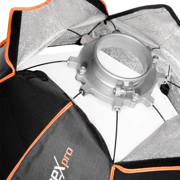 Walimex Pro Softbox Striplight Plus OL 25x180cm   Diverse merken Speedring