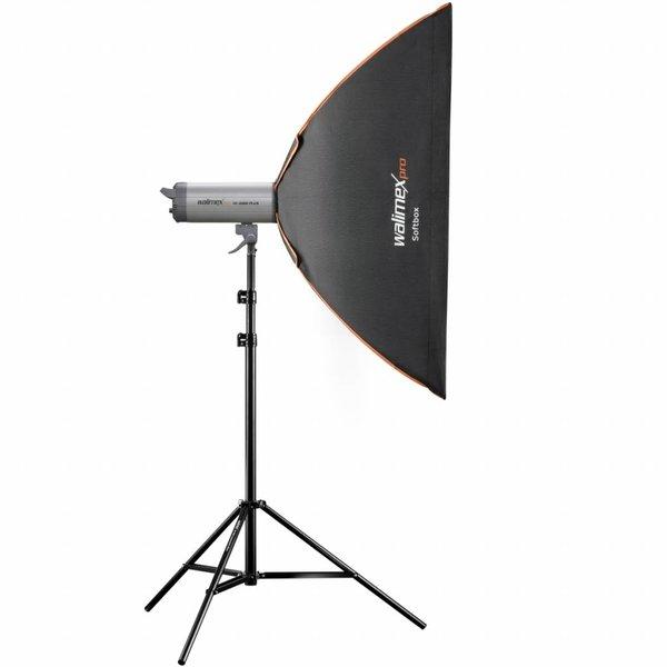 Walimex Pro Softbox Vierkant Plus OL 80x120cm   Diverse merken Speedring