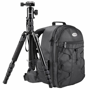 Mantona Camera Tripod & Backpack Travel Kit